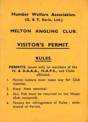 James Burns Permit
