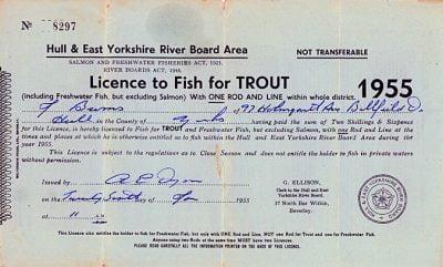 James Burns Rod Licence